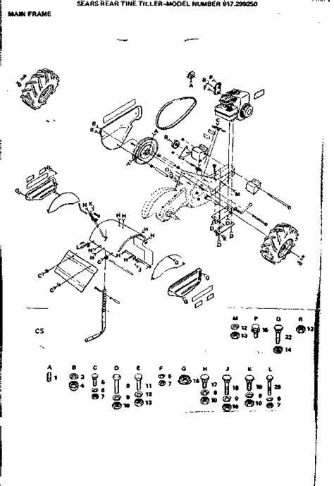 craftsman tiller parts diagram parts for tiller craftsman pictures pornostar