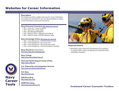 Navy Knowledge Help Desk by Ccc Toolbox Information Sheet 1 Dec10