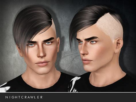 sims 4 half have hair nightcrawler sims we can t stop