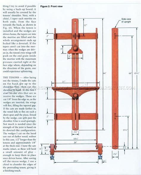 woodworking plans easel    woodworking plans easel video