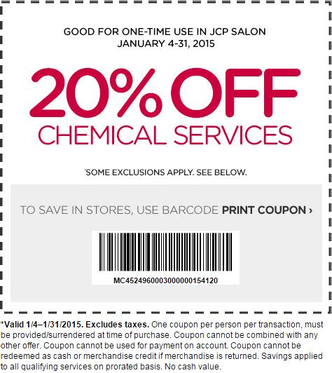hair salons jc penny price list jcpenney salon coupons all salon prices