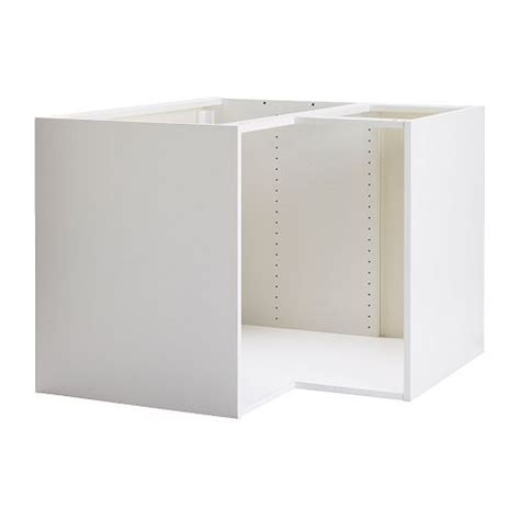 9 inch base cabinet ikea akurum base corner cabinet frame white 66 00 37x37