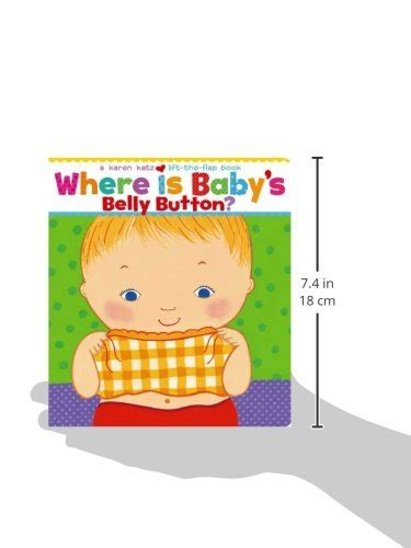 where is babys belly 0689835604 where is baby s belly button a lift the flap book import it all