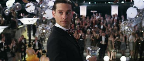 gatsby s little movie moments the great nick carraway