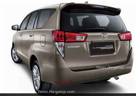 Lu Belakang Mobil Kijang Innova harga rp 280 425 juta ini toyota all new kijang innova