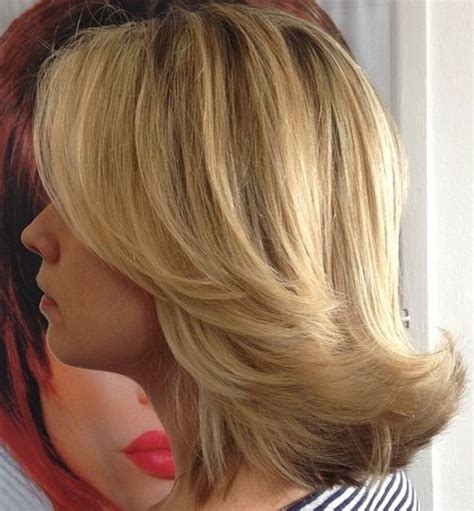 photos medium length flip hairstyles 40 best medium straight hairstyles and haircuts stylish