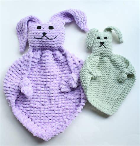 bunny blanket buddy knit pattern bunny blanket buddies blogged here pattern bunny