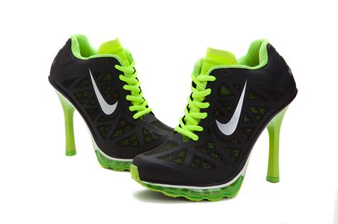 black nike high heels womens nike air max 95 high heels black green nike high