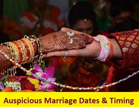 Auspicious Marriage dates & timing in 2019   Learn