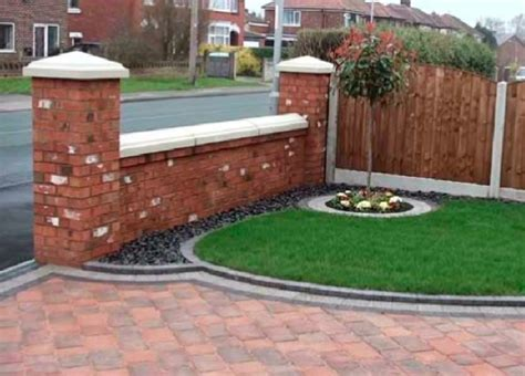 garden wall uk garden walls in ashton penwortham and area
