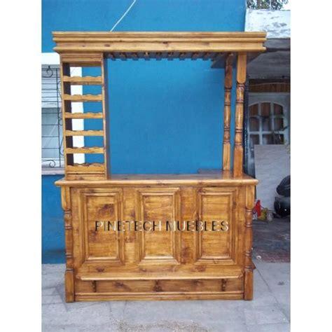 mueble barra bar barra bar mueble desayunador madera pino premium