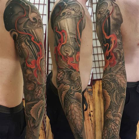 whole sleeve tattoo 125 sleeve tattoos for and designs meanings