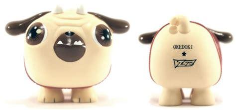 pug pop vinyl okedoki and vtss present puck the pug vinyl