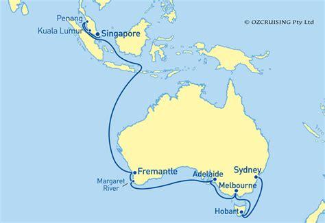 princess cruises singapore majestic princess sydney to singapore cruise in february