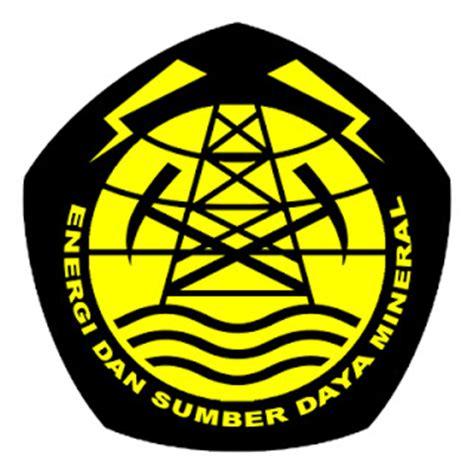 email esdm aneka info logo departemen energi dan sumber daya mineral