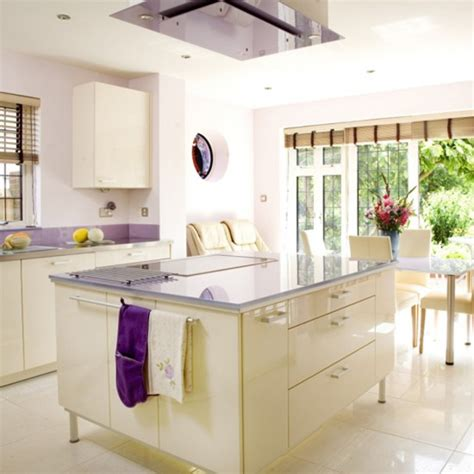 Kitchen Paint Lilac Glossy Lilac Kitchen Kitchen Design Decorating Ideas