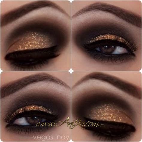 Sparkly Look It Or It by Le Maquillage Des Yeux Dor 233 Maquillage Des Yeux