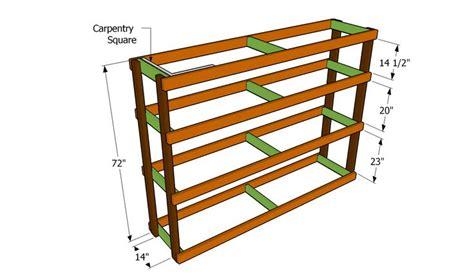 garage shelf plans easy economical garage shelving