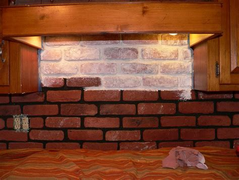 brick tile kitchen backsplash faux brick tile backsplash best brick backsplash brick