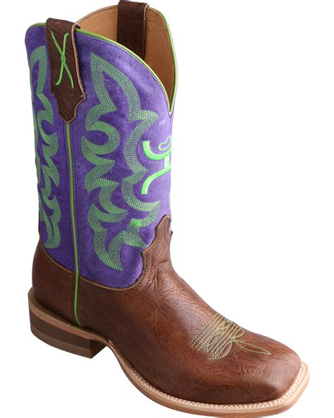 hooey cowboy boots hooey by twisted x s square toe western boots boot barn