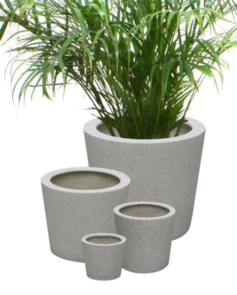 Terrazzo Planters by Poly Terrazzo Planter White Small H13cm X 15cm