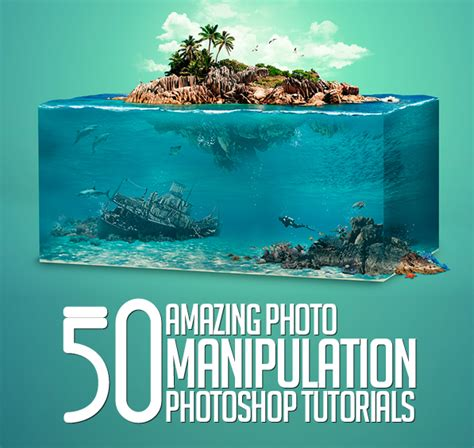 tutorials on graphic design 50 amazing photoshop photo manipulation tutorials