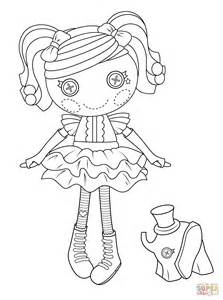 lalaloopsy coloring pages lalaloopsy peanut big top coloring page free printable
