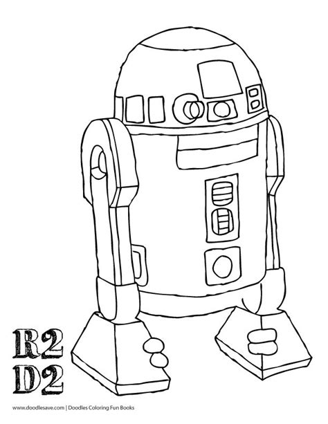 r2d2 robot coloring coloring pages coloring pages