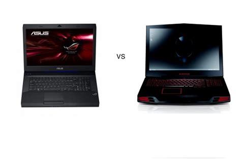 asus g74 vs alienware m17x better gaming laptop compare specs review unit