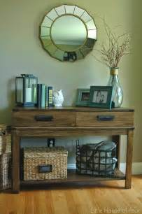Entrance Table Decor 20 Stunning Furniture Revivals Get Your Diy On Features Confessions Of A Serial Do It Yourselfer