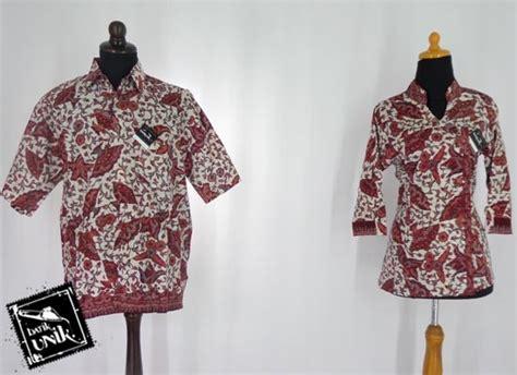 Kemeja Batik Pekalongan Motif Daun Merambat baju batik sarimbit motif daun kipas blus lengan