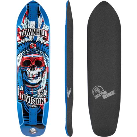 Freak Turns W Magazine Into Ohio Roadkill by Sector 9 Downhill Division Arrow 39 Longboard Skateboard