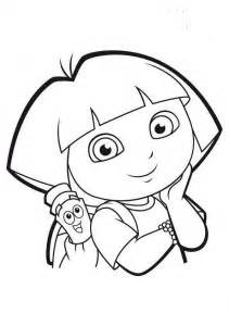 baby dora coloring pages dora the explorer coloring pages crafts and worksheets