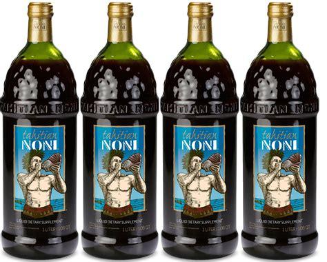 tahitian noni juice authentic of 4 x 1