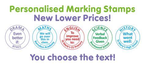 Fun Mugs personalised teacher stamps school stampers school