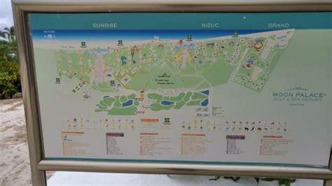palace resort cancun map resort map picture of moon palace cancun cancun