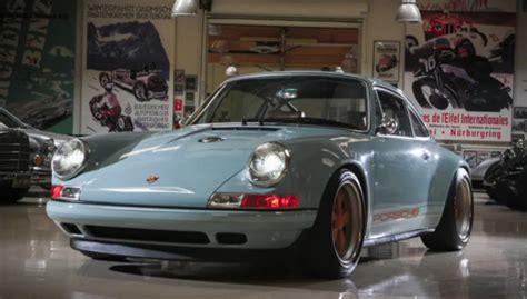J Leno Singer Porsche leno experiences the magic of singer 911