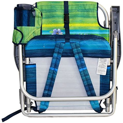bahama backpack cooler chair with storage pouch and towel bar 2 bahama backpack cooler chair with storage pouch