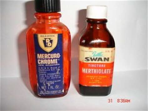 Mercurochrome Also Search For Vintage 1st Aid Bottles 1 Merthiolate 1 Mercurochrome S