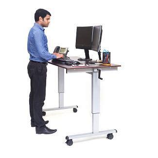 Adjustable Height Standing Computer Desk Adjustable Height Computer Desk Mobile Sit And Stand