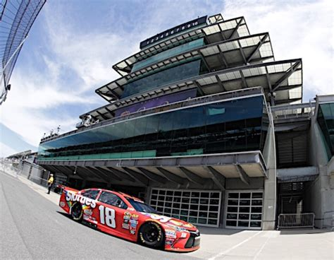 who owns indianapolis motor speedway racin today 187 kyle busch wins brickyard owns