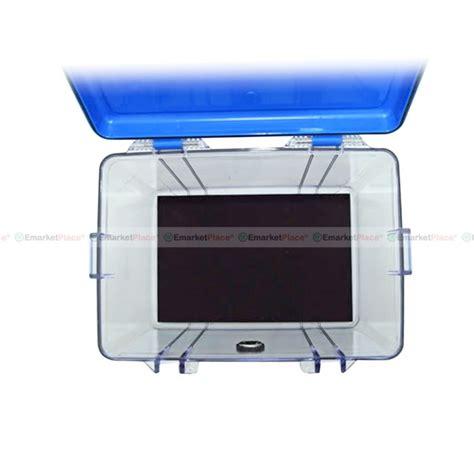 Drybox Wonderful Db 3828 กล องก นความช น แบบใส เคร องด ดความช นระบบไฟฟ า กล อง
