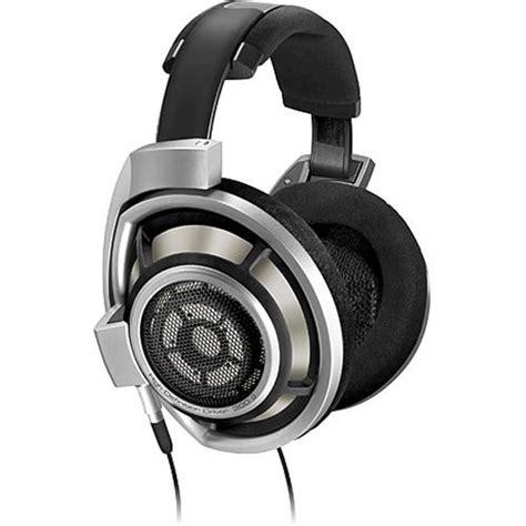 Headphone Headset Stereo Sennheiser sennheiser hd 800 dynamic open back stereo headphones hd800 b h