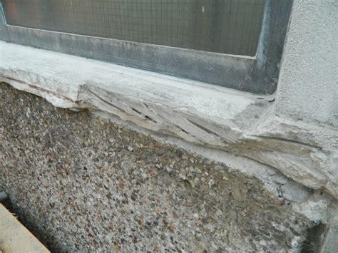 Concrete Window Sill Belzona 4141 Magma Build A High Build Epoxy Composite