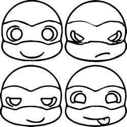coloring pages ninja turtle color sheets teenage mutant