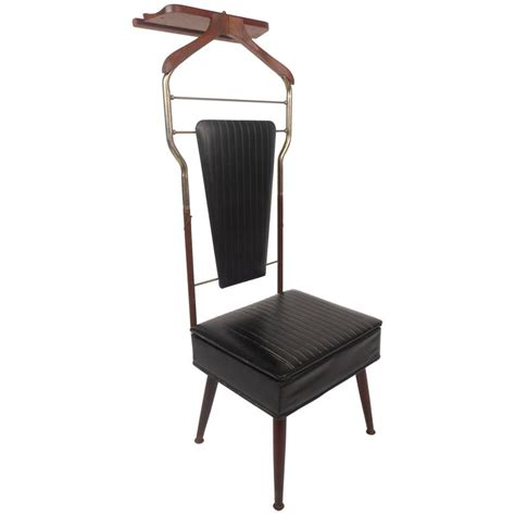Butlers Chair by Mid Century Modern Valet Butler Chair For Sale At 1stdibs