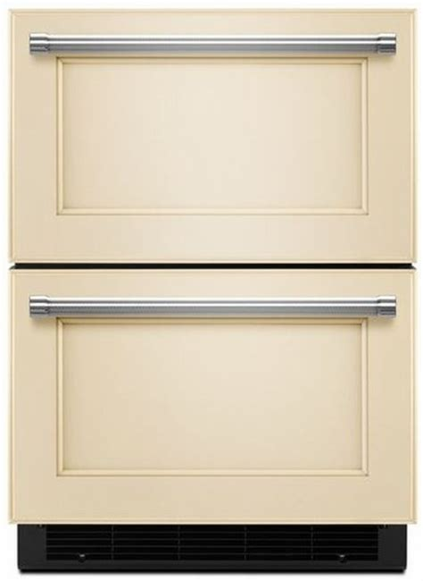 kudf204epa kitchenaid 24 quot refrigerator freezer drawer