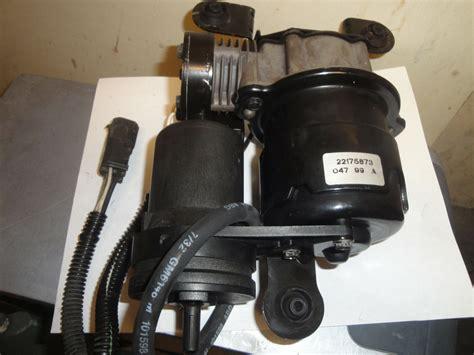 cadillac 2000 05 dts dhs suspension air compressor oem ebay