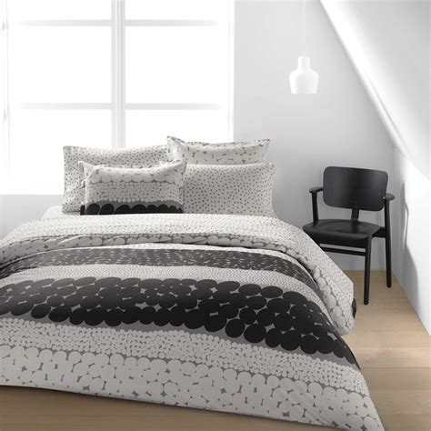 gray bed sheets marimekko ut white grey sheet set marimekko ut white