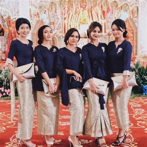 kumpulan gambar inspirasi kebaya modern indonesia